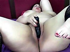Young BBW Jills classic masturbation