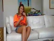 Hot Brunette POV at Home (HUUU)