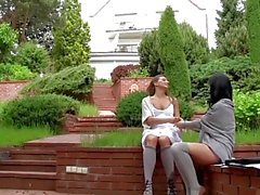 AGirlKnows - Study brake with hot babes Lexi Dona and Whitney Conroy
