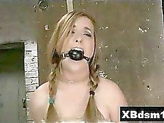 Juicy Ass Bondage Girl Extreme Penetration
