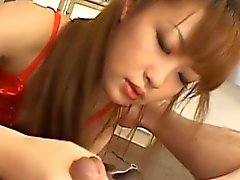 Supple young sexy asian babe