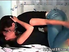 Amazing and horny lesbians Esmeralda part2