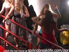 spring break girls on stage