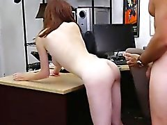 Two hand anal fisting Jenny Gets Her Ass Pounded At The Pawn