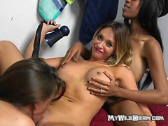 Teens Take Turns Getting Pounded By Hung Mailman