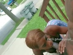Getting Head On The Porch In Broad Daylight Is So Sexy