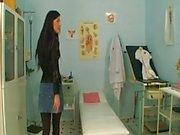 Doctor treats horney ailing patient