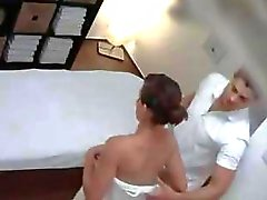 Teen gets a Massage with Happy Ending