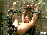 Intense BDSM and slut asshole toying