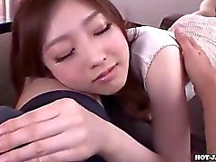 Japanese Girls masturbated with lubricous secretariate at university.avi