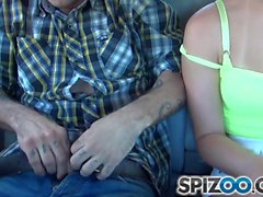Dakota get her little pussy drilled through nice and slow