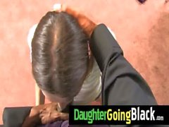 Black monster fucks my daughter young pussy 3