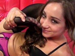Gorgeous teen tugs bbc