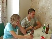 Katerina aka heather from brunnette russian orgy vid 7 dp