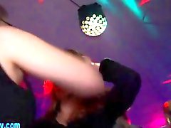 Teen party sluts get fucked by the strippers
