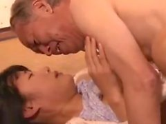 NSPS 269 MusumeHara Chigusa and Grandpa Love it !