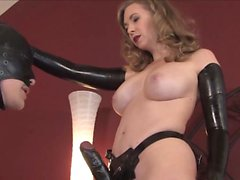 Sey mature strapping a young guy w Omega from 1fuckdatecom