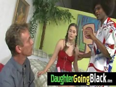 Just watching my daughter going black 9