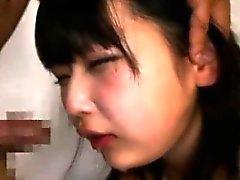 Schoolgirl Sucks On A Cock Japanese
