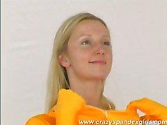 Crazy Spandex Girl Katherina
