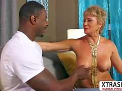 Cougar Aunty Tracy Licks Take Cock Sweet Hot Son