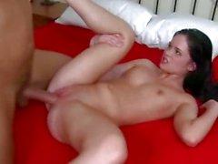 Jenna Ross loves getting her shaven pussy slammed