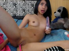 Teen asian camgirl plays with her pussy Part 2 on Teencamx