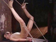 Strict Bondage And Nipple Torment