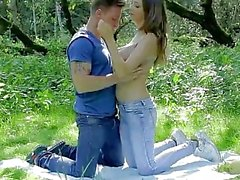 Lucie Wilde - Outdoor Sex