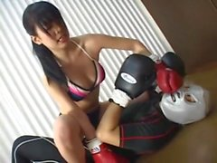 Japanese Idol knockout boxer Mixed Fight