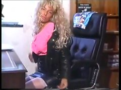 Tiny-titted young Vida Garman rubbing her hairy cunt