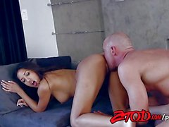Chloe Amour is a hot skinny brunette babe