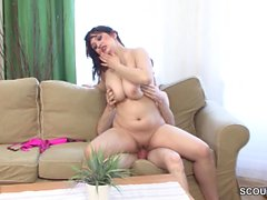 German Teen in First Time Real Porn Casting