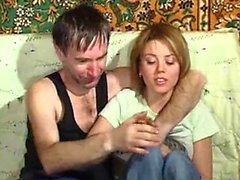 Mouthful of Cum for Young Russian Teen