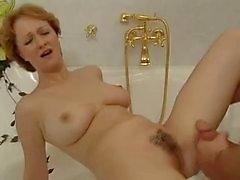 Hot redhead MILF