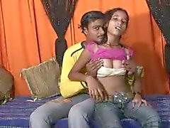 He gets head and makes love to Indian teen