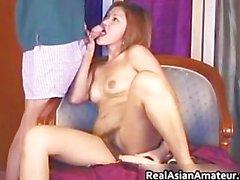 Peachy ass asian amateur forces huge part3