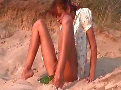 adorable natasha teen naked on the beach