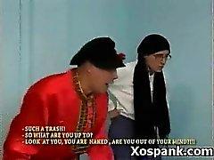 Cruel Teen In Tempting Spanking Hardcore