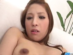 Tsubasa Aihara enjoys cum on face afetr harsh show