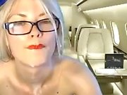Sexy Flight Attendant on Cam Part 2