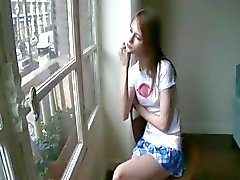 Beata chick awaiting her boyfriend