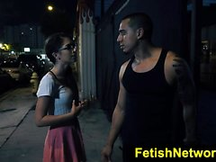 FetishNetwork Joseline Kelly public bdsm