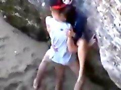 amateur porn on the beach