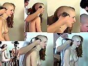 3 Girls - Headhshave - Naked - fetish