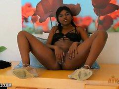 Yara Skye shows that hot black body