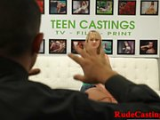 Real teen brutally pounded at sexaudition