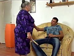 bbw granny takes young dick