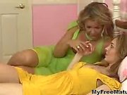 Lesbian Milf Kelly With Teen Babe