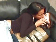 Lesbian Kissing Domination
